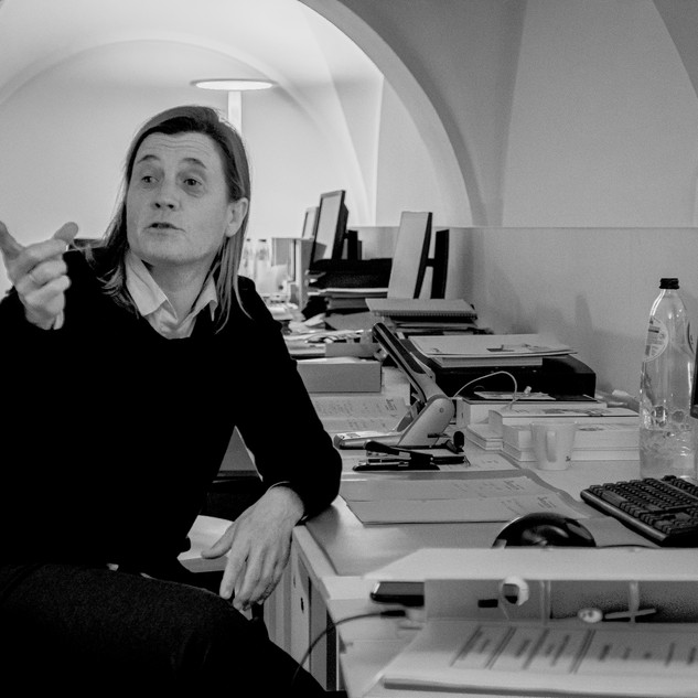 Barbara OSTYN  architect  co-founder and partner 3ARCHITECTEN Roeselare