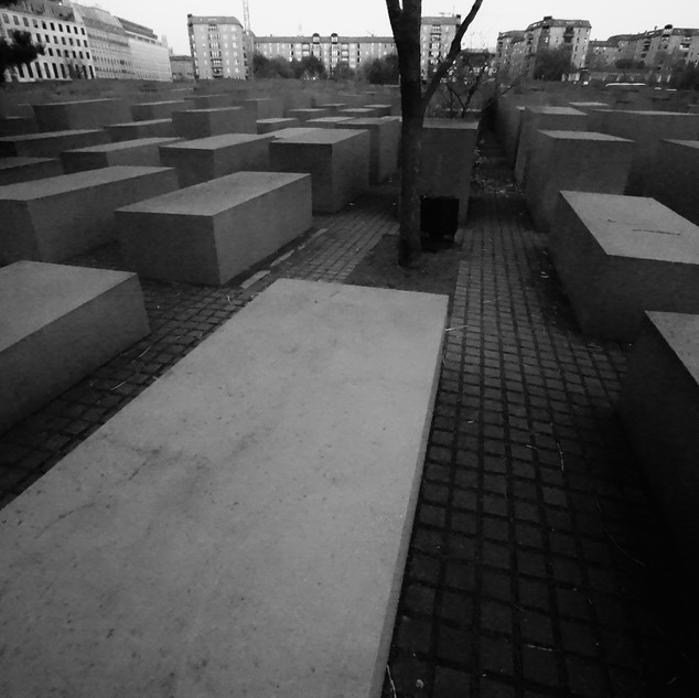 Berlin. Memorial for the murdered jews.