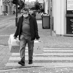 Antwerp. Dageraadplein.