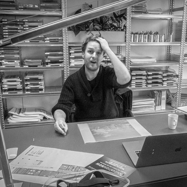 Niels BAECK architect  partner EVR-architecten  Gent