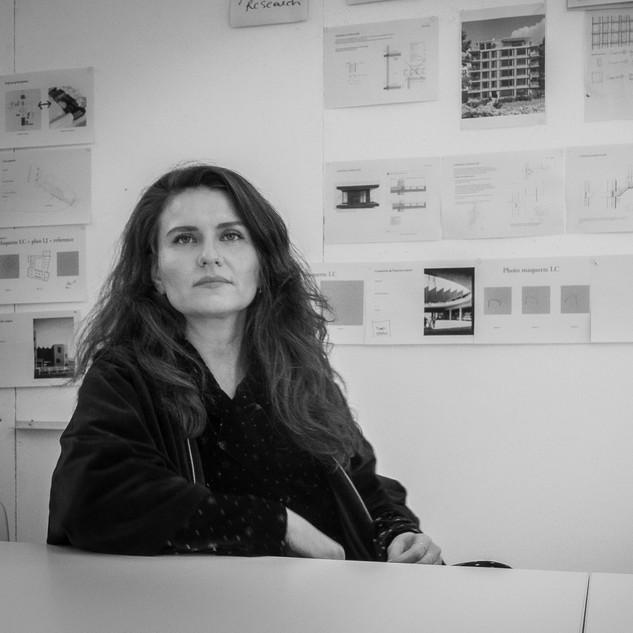 Oana BOGDAN architect  BOGDAN & VAN BROECK Brussel founding partner & manager