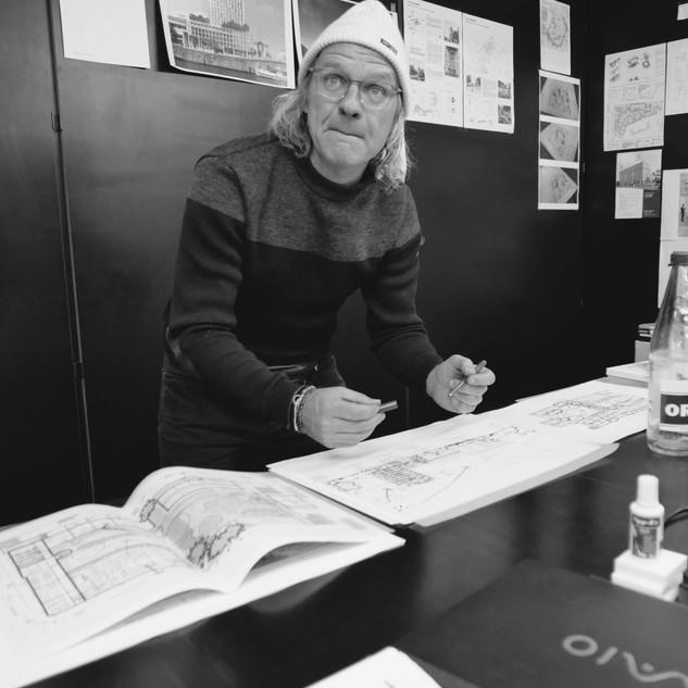 Evert CROLS architect  B-ARCHITECTEN Antwerpen founding partner