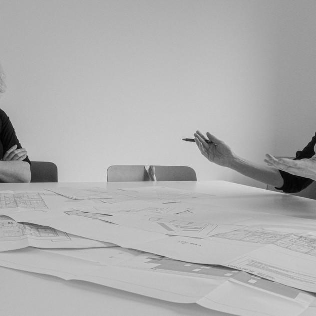 Leen JANSSENS & Lien VANSTEENKISTE architecten  GROEP III Architecten bestuurders Brugge