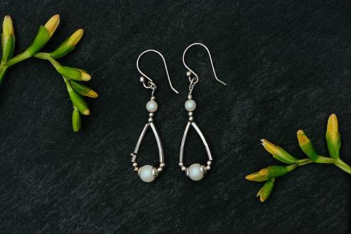 Swarovski Sterling Silver Earrings