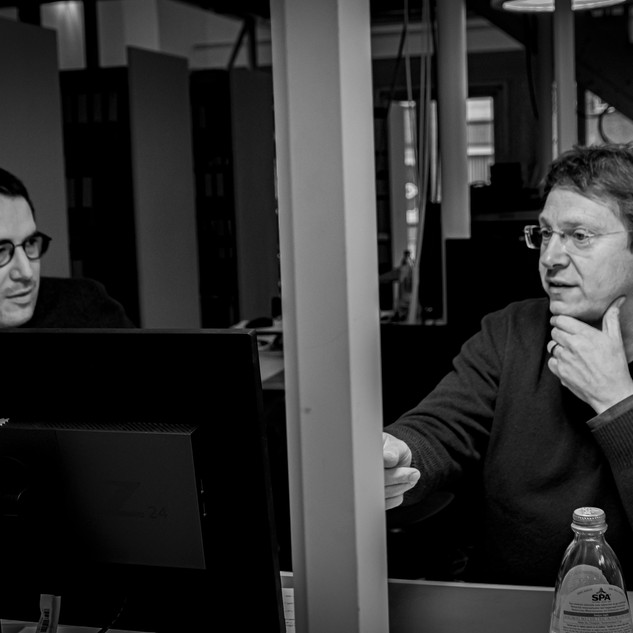 Christophe KEIRSBILCK at right architect co-founder and partner 3ARCHITECTEN  Roeselare