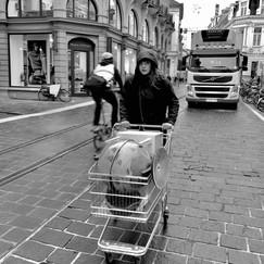Gent. Sint-Niklaasstraat.