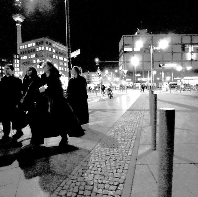Berlin. Alexanderplatz.
