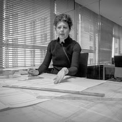 Martine DE MAESENEER architect  zaakvoerster MDMA-architecten Brussel