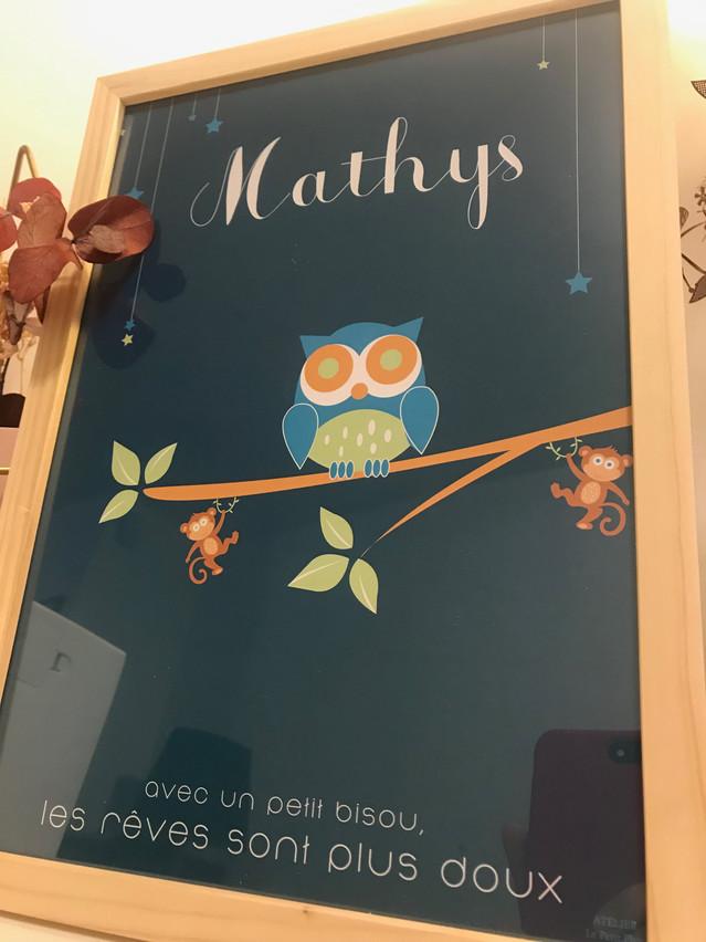 Affiche Mathy