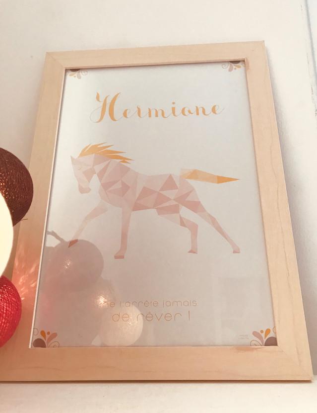 Affiche Hermione