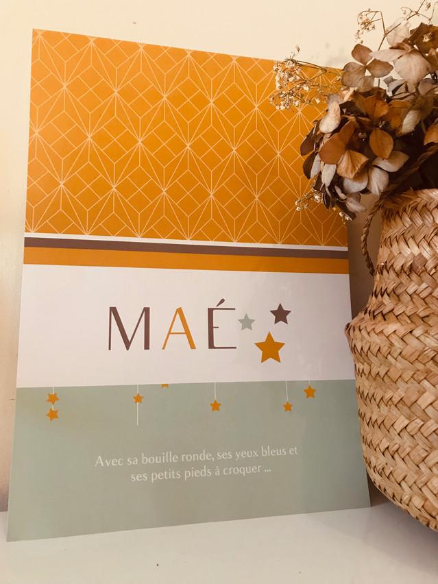 Affiche Maé
