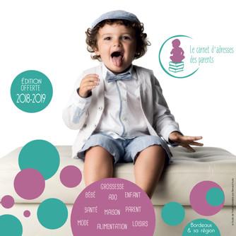 Carnet papier l'association le Carnet d'adresses des parents