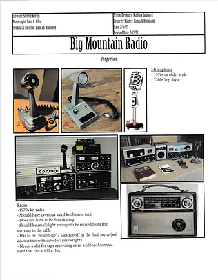 Big Mountain Radio Property Research