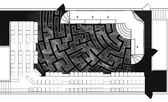 Labyrinth of Desire Floor Treatment