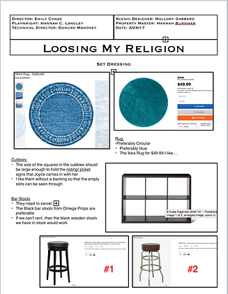 Losing My Religion Property Package