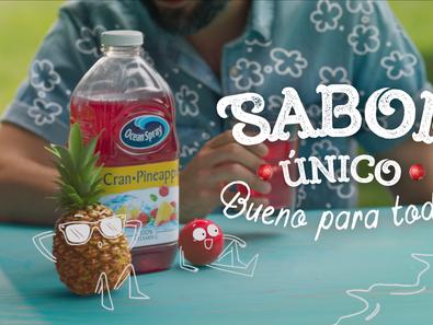 "Ocean Spray Launches First National Hispanic Marketing Campaign ""Sabor Único. Bueno Para Todos™"""