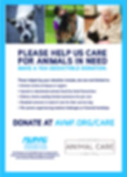 HACH cares by having a special veterinary care charitable fund set up throuh AVMF to help our local pets in need.