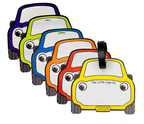 Car Rider Backpack Tags (Pack of 50)