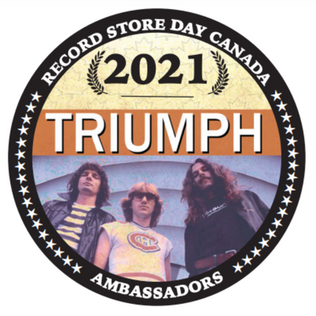 TRIUMPH HAVE BEEN NAMED CANADIAN AMBASSADORS FOR RECORD STORE DAY