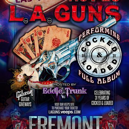 L.A. Guns PPV Livestream Event Nov. 28th