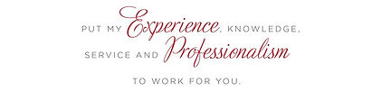 Experience, Professionalism