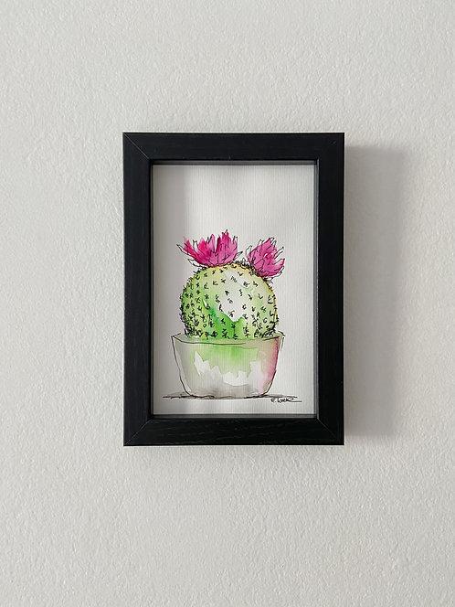 Cactus VII (15 x 10 cms)