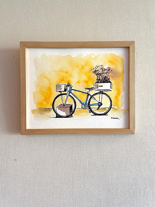 Bicicletas y rincones I (20 x 25 cms)