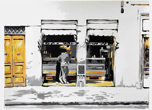 """Print de """"Lo de siempre, por favor"""" (24 x 33 cms)"""