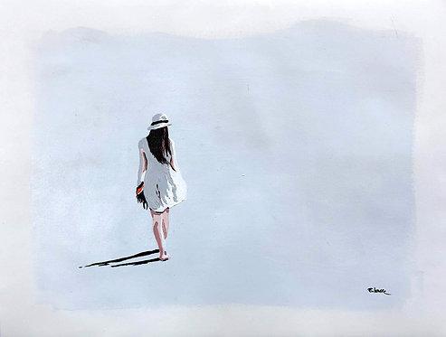 Simple caminata (35 x 45 cms)