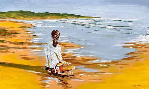 Descanso de playa (30 x 50 cms)