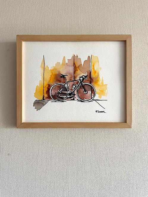 Bicicletas y rincones IV (20 x 25 cms)