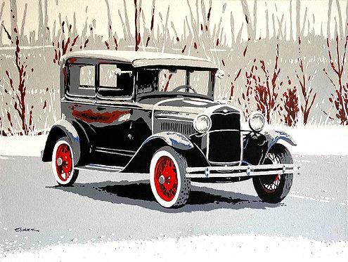 Ford A Tudor (60 x 80 cms)