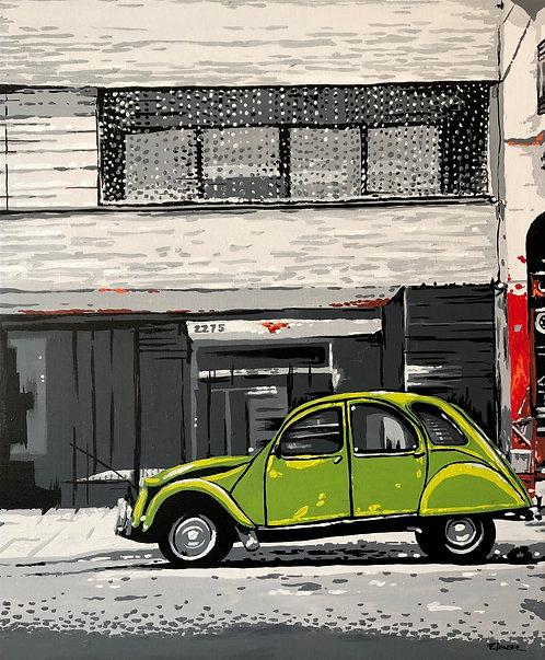 Un rincón de Buenos Aires (60 x 50 cms)