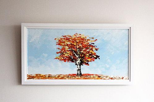 Un árbol (30 x 60 cms)