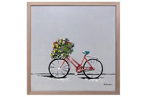 """Obra """"Silencio en primavera"""" (30 x 30 cms)"""