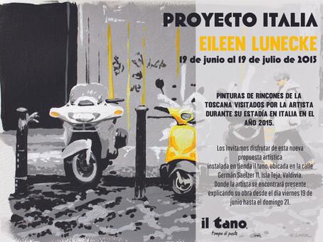 """Exposición """"Proyecto Italia"""""""