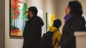 """Exposición """"Entre lo real y lo soñado"""" en Valdivia"""