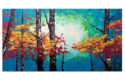 Entre colores (80 x 150 cms)
