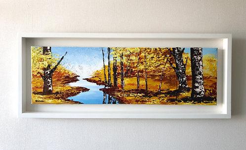 Fresco otoño (37 x 93 cms)