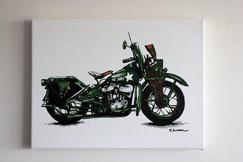 """""""Harley WL"""" (30 x 40 cms)"""