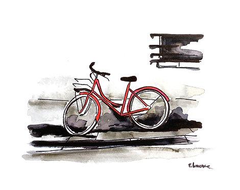 Bicicletas y rincones V (20 x 25 cms)