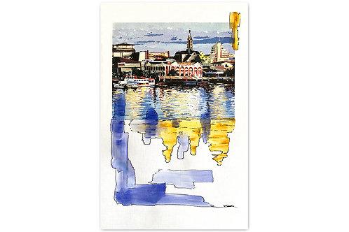 Detalles fluviales - I (28 x 43 cms)