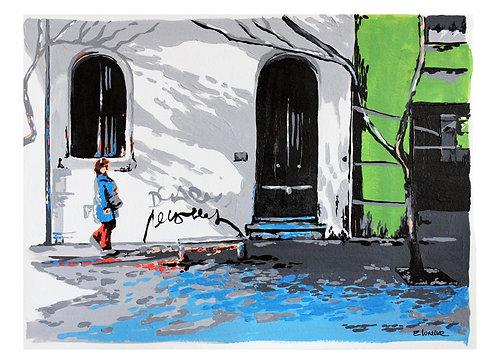 """Print de """"Juego de sombras"""" (24 x 33 cms)"""