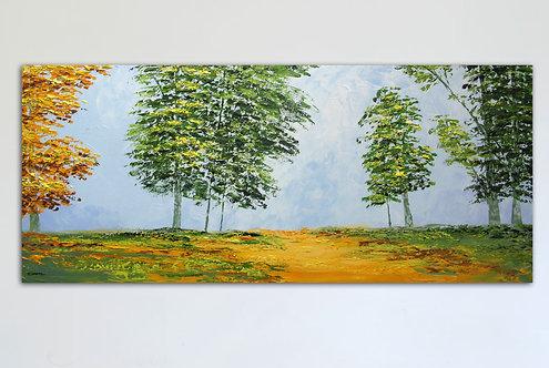 Suave otoño (60 x 140 cms)