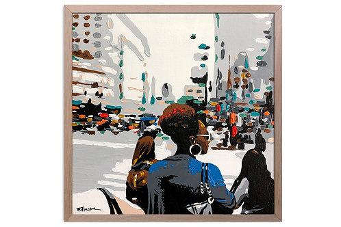 "Obra ""Maravillosa realidad"" (30 x 30 cms - enmarcada)"