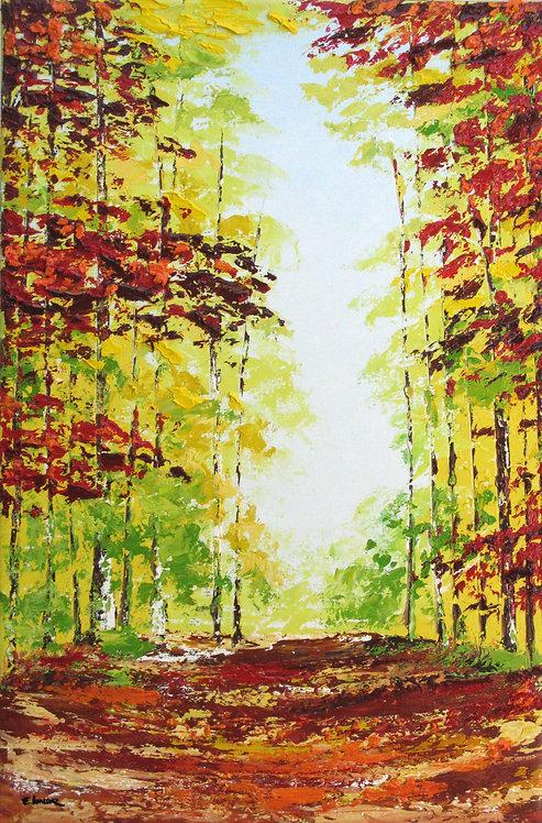 Libertad por la tarde (78 x 52 cms)