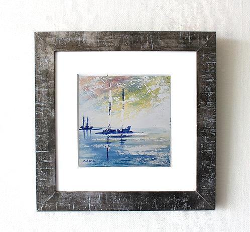 Navegando nr 2 (28 x 28 cms)