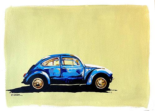 VW Escarabajo I (30 x 40 cms)