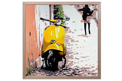 """Obra """"Rincones"""" (30 x 30 cms - enmarcada)"""