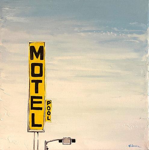 Motel (30 x 30 cms)